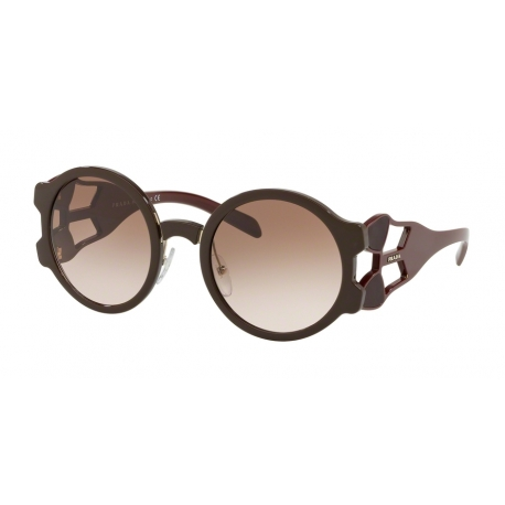 Prada PR 13US DHO0A6 | Frame: brown | Lenses: brown gradient