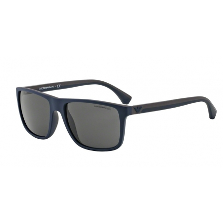 Emporio Armani EA4033 523087 | Frame: top blue, brown rubber