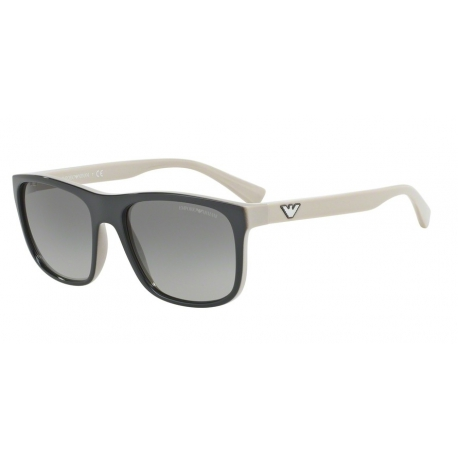 Emporio Armani EA4085 555711 | Frame: top grey on beige