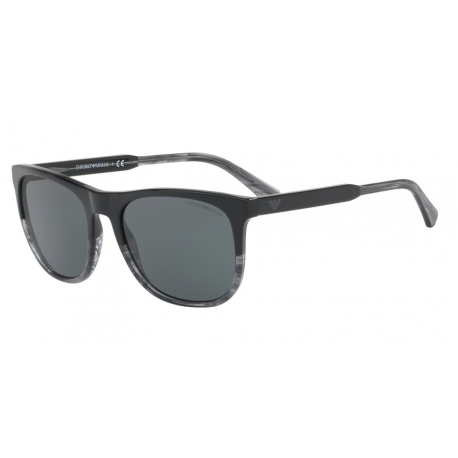 Emporio Armani EA4099 556687 | Frame: black, transparent striped grey