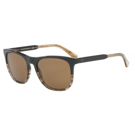 Emporio Armani EA4099 556783 | Frame: brown, transparent striped brown