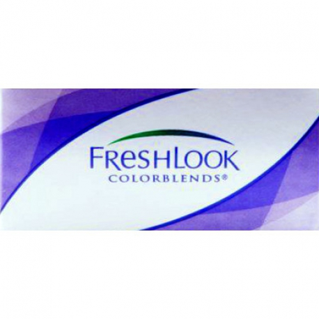 Ciba Vision FreshLook ColorBlends | Type: spherical for myopia and hypermetropia cosmetic colored | Life: monthly disposable