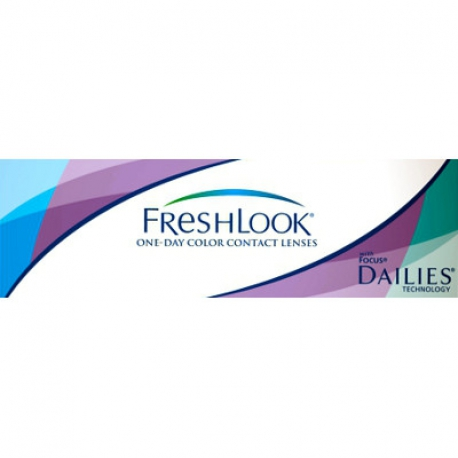 Ciba Vision FreshLook One Day | Type: spherical for myopia and hypermetropia cosmetic colored | Life: daily disposable