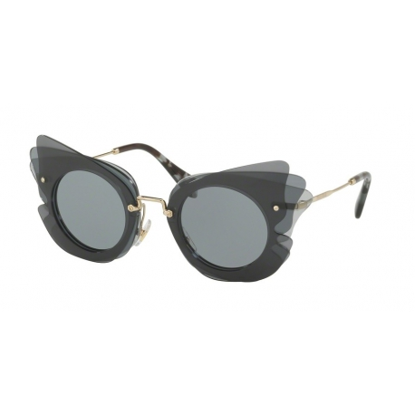 Miu Miu MU 02SS VA43C2 | Frame: dark grey, light grey
