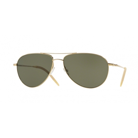 Oliver Peoples OV1002S Benedict 5035P1 | Frame: gold | Lenses: grey polarized