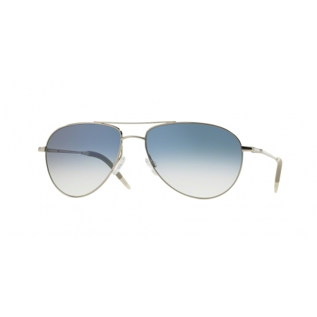 Oliver Peoples OV1002S Benedict 52413F | Frame: silver | Lenses: chrome sapphire photochromic