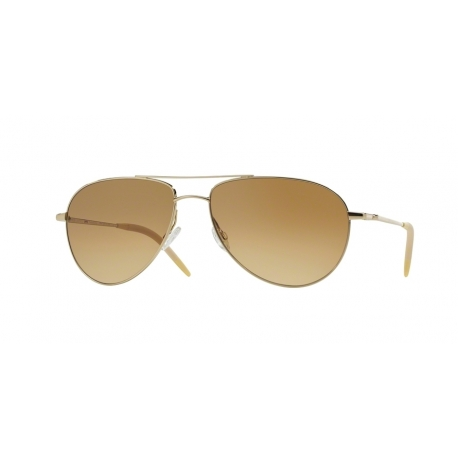 Oliver Peoples OV1002S Benedict 524251 | Frame: gold | Lenses: chrome amber photochromic