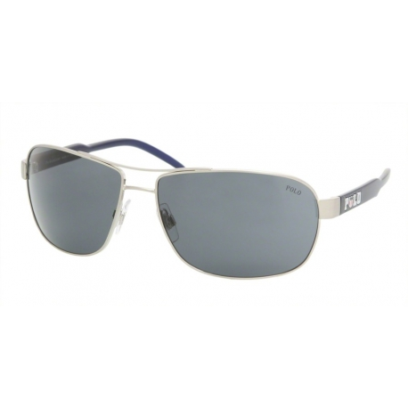 Polo Ralph Lauren PH3053 910487 | Frame: brushed silver