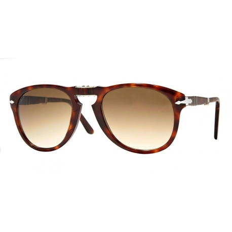 Persol PO0714 Folding 24/51 | Frame: havana | Lenses: crystal brown gradient
