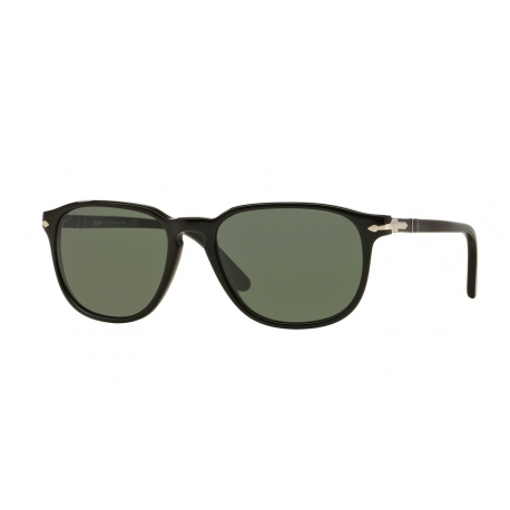 Persol PO3019S 95/31 | Frame: black | Lenses: crystal green