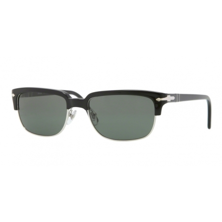 Persol PO3043S 95/31 | Frame: black | Lenses: crystal green