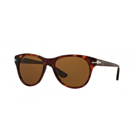 Persol PO3134S 24/57 | Frame: havana | Lenses: brown polarized