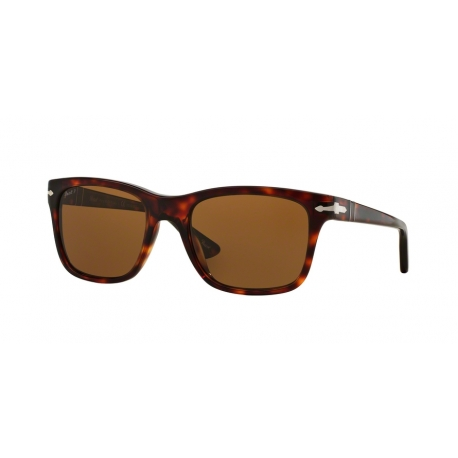 Persol PO3135S 24/57 | Frame: havana | Lenses: brown polarized