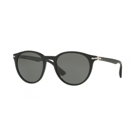Persol PO3152S 901458 | Frame: black | Lenses: polarized green