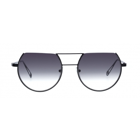 Original Vintage Sunglasses POSEIDON 01 | Frame: black | Lenses: grey gradient