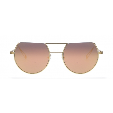 Original Vintage Sunglasses POSEIDON 02 | Frame: gold | Lenses: gold mirror