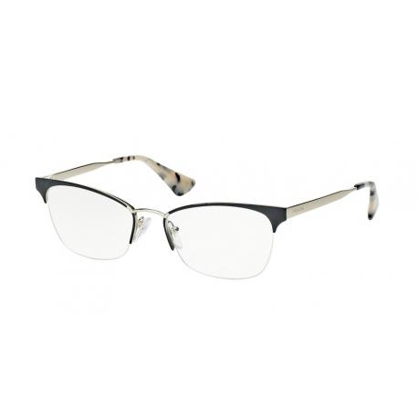 fcd86b1f0e93 Eyeglasses Prada   PR 65QV - QE31O1   Frame: black, pale gold ...
