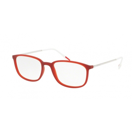 Prada Linea Rossa PS 03HV U621O1 | Frame: transparent bordeaux rubber