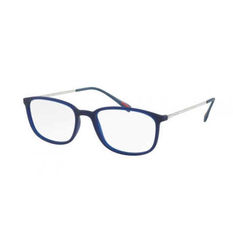 Prada Linea Rossa PS 03HV U631O1 | Frame: transparent blue rubber