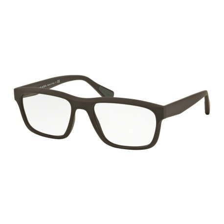 Prada Linea Rossa PS 07GV UB01O1 | Frame: brown rubber