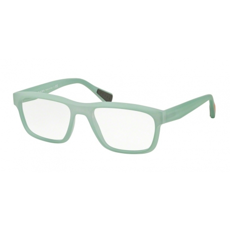 Prada Linea Rossa PS 07GV UFM1O1 | Frame: light green rubber