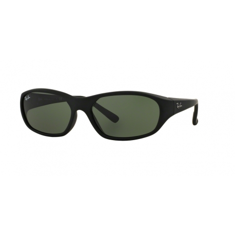 Ray-Ban RB2016 Daddy-O W2578 | Frame: matte black | Lenses: green