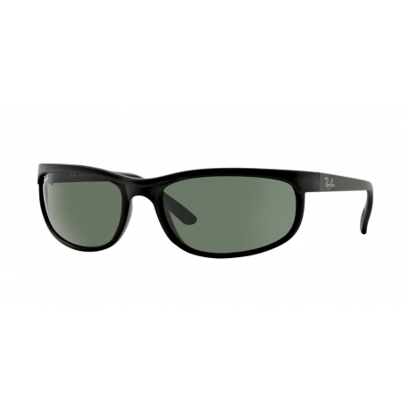 Ray-Ban RB2027 Predator 2 W1847 | Frame: black, matte black | Lenses: crystal green