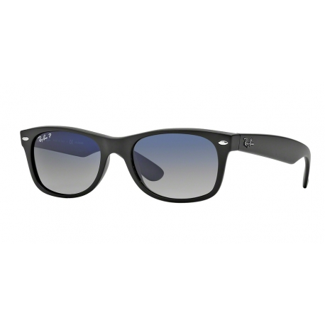 Ray-Ban RB2132 New Wayfarer 601S78 | Frame: matte black | Lenses: polarized blue gradient grey