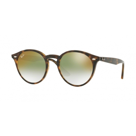 Ray-Ban RB2180 710/W0 | Frame: havana | Lenses: gradient green mirror red
