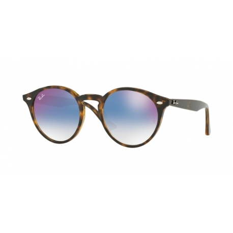 Ray-Ban RB2180 710/X0 | Frame: havana | Lenses: gradient blue mirror red