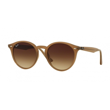 Ray-Ban RB2180F 616613 | Frame: turtledove | Lenses: brown gradient