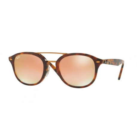 Ray-Ban RB2183 1127B9 | Frame: top havana brown, yellow brown | Lenses: green gradient brown mirror