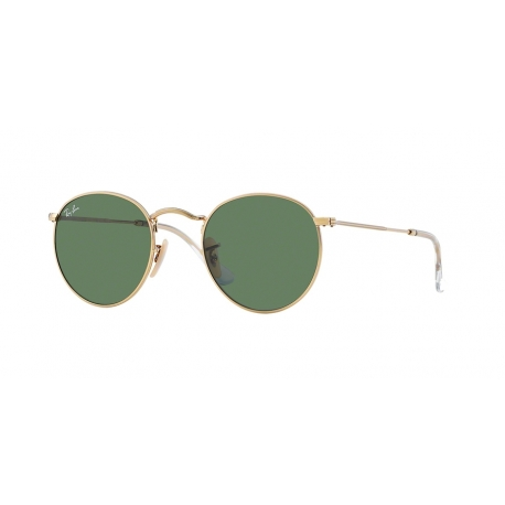 Ray-Ban RB3447 Round Metal