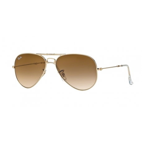 Ray-Ban RB3479 Aviator Folding 001/51 | Frame: arista | Lenses: crystal brown gradient