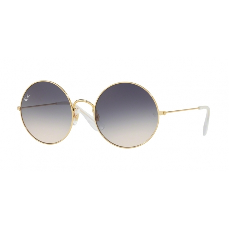 Ray-Ban RB3592 Ja-Jo 001/I9 | Frame: gold | Lenses: light brown gradient blue