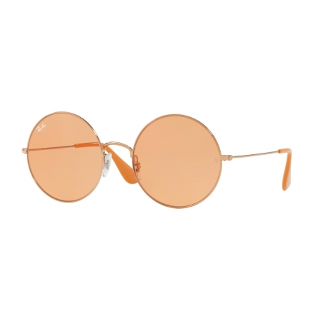 Ray-Ban RB3592 Ja-Jo 9035C6 | Frame: shiny copper | Lenses: orange mirror