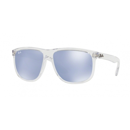 Ray-Ban RB4147 63251U | Frame: transparent | Lenses: blue mirror silver