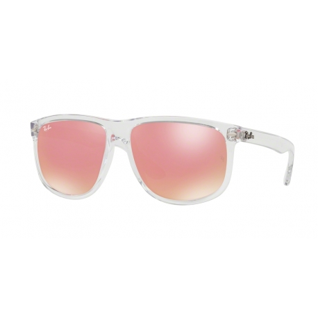 Ray-Ban RB4147 6325E4 | Frame: transparent | Lenses: pink mirror copper