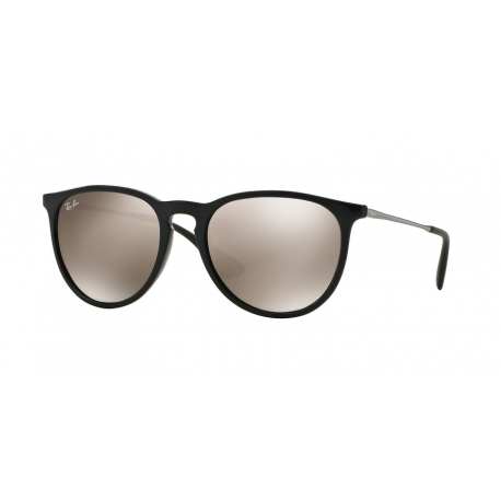 Ray-Ban RB4171 Erika 601/5A | Frame: black | Lenses: light brown gold mirror