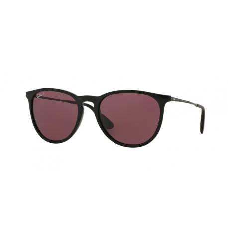 Ray-Ban RB4171 Erika 601/5Q | Frame: black | Lenses: polarized purple