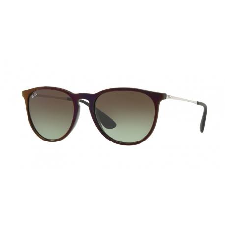 Ray-Ban RB4171 Erika 6316E8 | Frame: black, red | Lenses: green gradient brown
