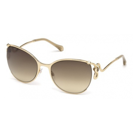 Roberto Cavalli RC1025 28G | Frame: shiny rose gold | Lens: brown mirror