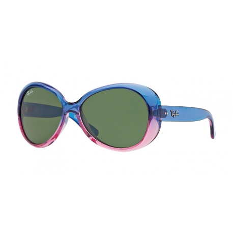 Ray-Ban Junior RJ9048S 175/71 | Frame: gradient blue, pink | Lens: green