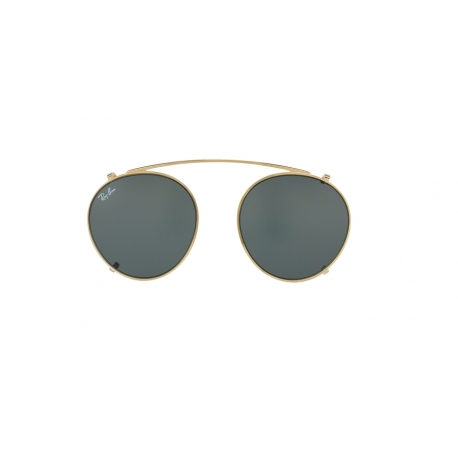 Ray-Ban RX2447C 250071 | Frame: gold | Lens: green