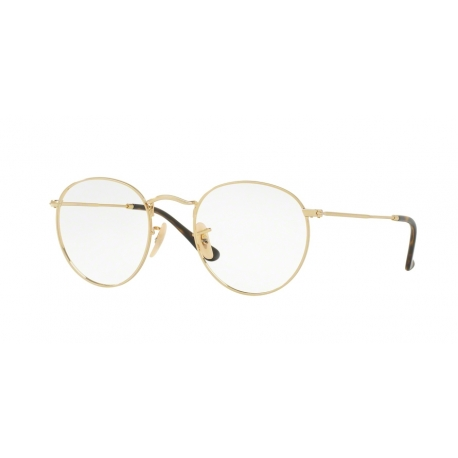 Ray-Ban RX3447V Round Metal