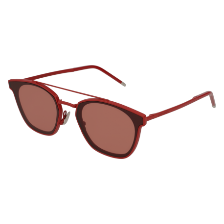 Saint Laurent SL 28 METAL 003 | Montatura: rosso | Lenti: rosso anti-riflesso