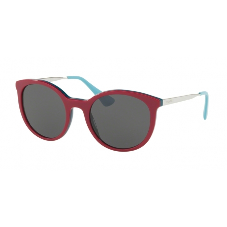 Prada PR 17SS Cinema VH43C2 | Frame: bordeaux, green | Lenses: grey