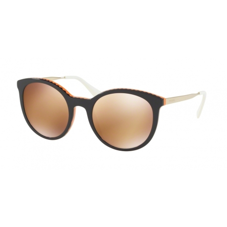 Prada PR 17SS Cinema VH56T0 | Frame: violet, orange | Lenses: orange gold mirror