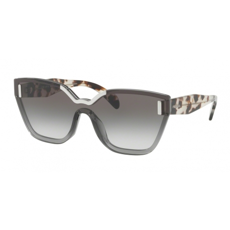 Prada PR 16TS VIP0A7 | Frame: light grey | Lenses: grey gradient