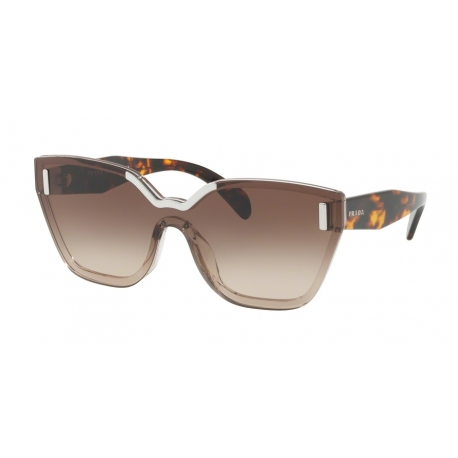 Prada PR 16TS VIQ6S1 | Frame: light brown | Lenses: brown gradient